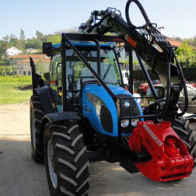 tracteur forestier avec grue occasion