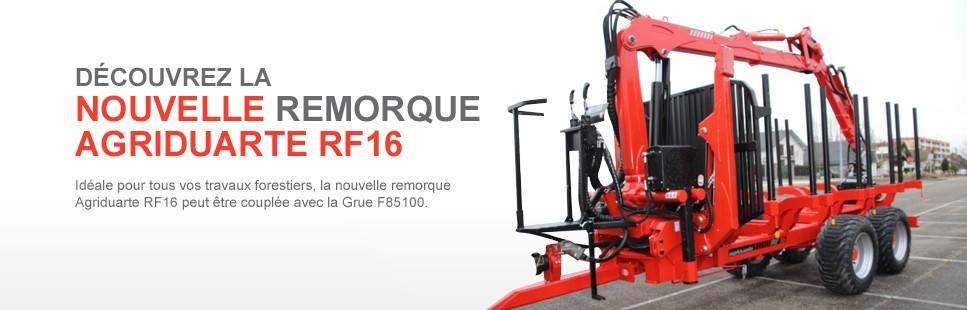 Nouvelle remoque agriduarte RF16