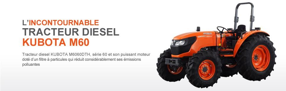 Tracteur diesel KUBOTA M60